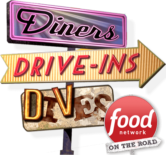Diners, Drive-ins, and Dives Food Network Sign